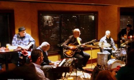 Dave Devos – Guitar, Dan Kostelnik – Organ, Steve Johns – Drums. Image: Gregory Burrus.