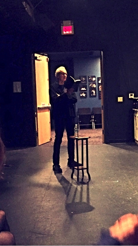 Michael Lally's Swing Theory Poetry Reading at Luna Stage