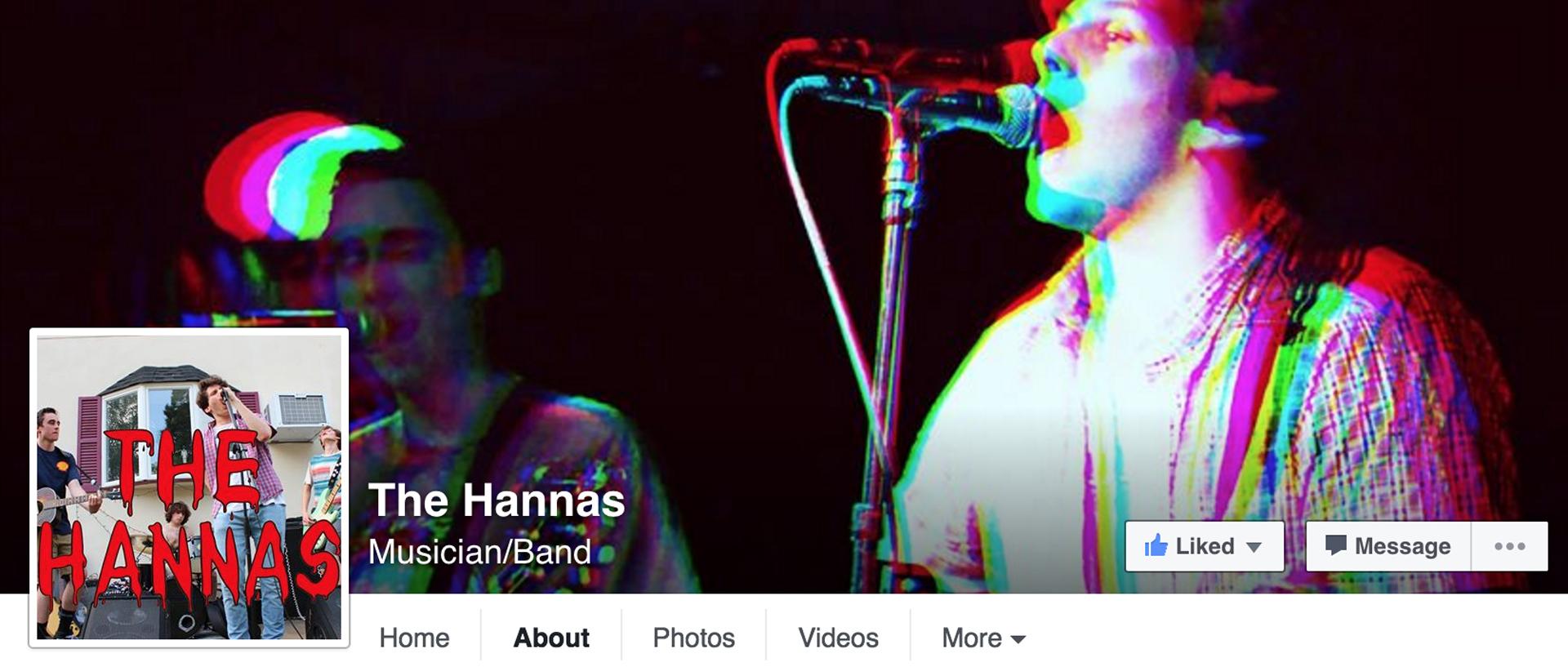 facebook.com/thehannasmusicnow