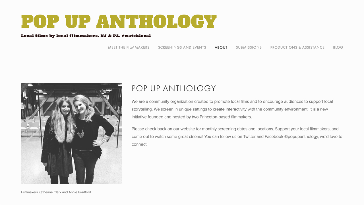 PopUp Anthology