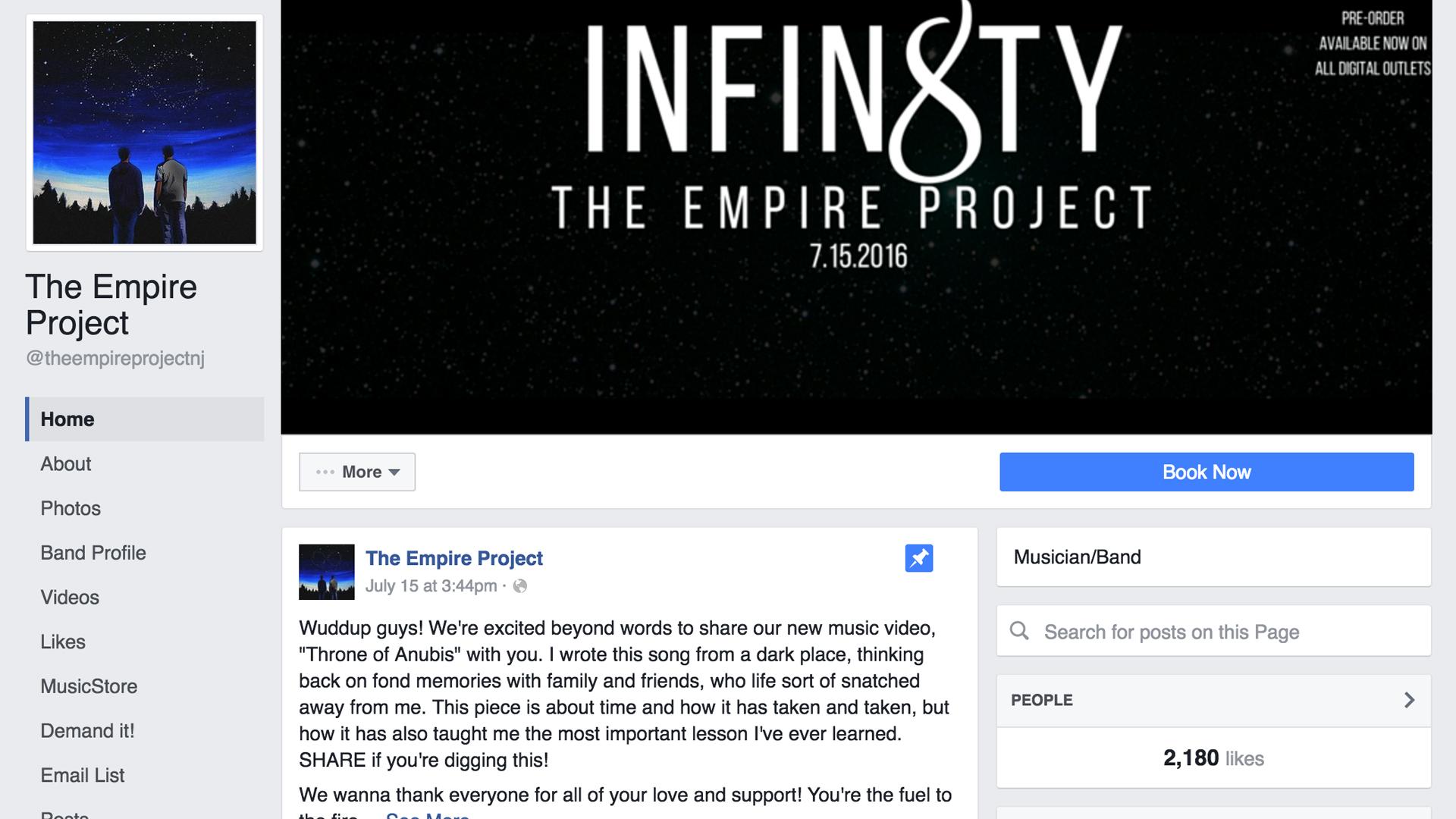 facebook.com/theempireprojectnj