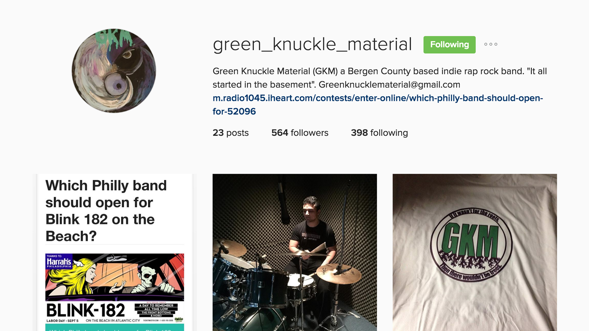 instagram.com/green_knuckle_material