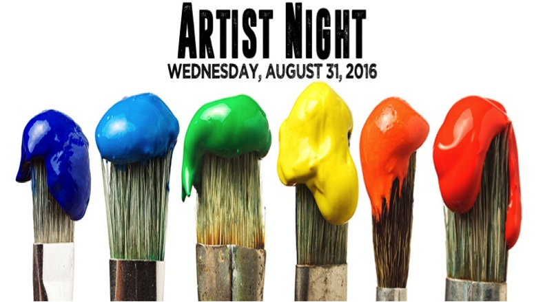 Grandaire Presents: Artist Night at Grandsons (Aug. 31, 2016)   Visual Art, Live Music, Community   Hammonton, NJ   Posted Aug. 26, 2016