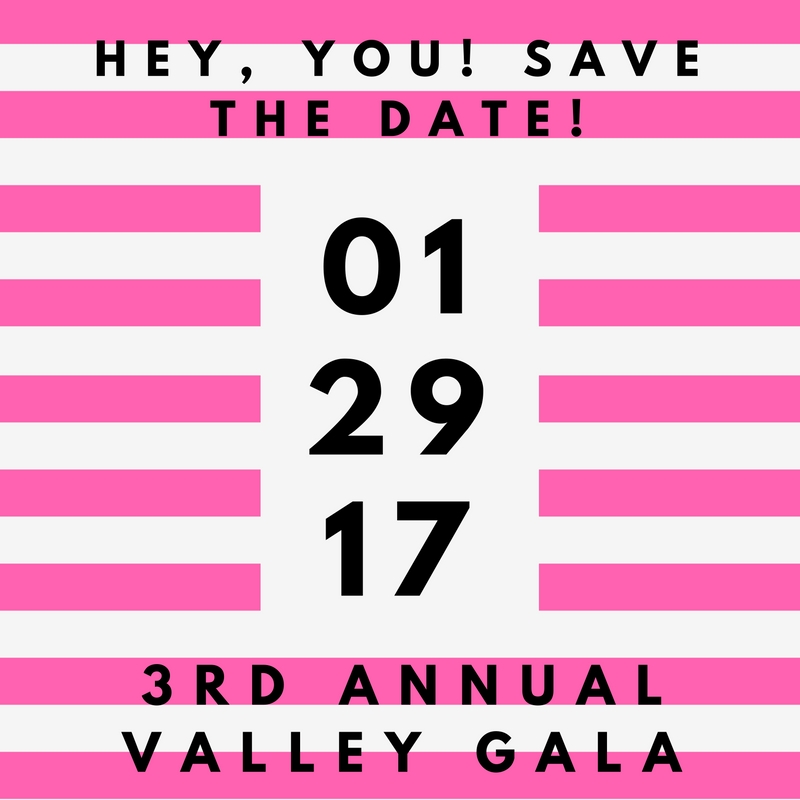 Tickets available at    valleygala.eventbrite.com