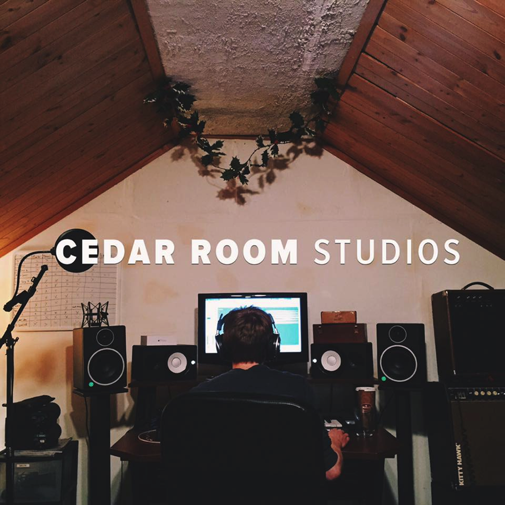 """The goal of the studio is to provide high quality recordings for musicians on a small budget, like myself.  You can check out the website at   cedarroomstudio.com  ""  — Shane Becker, Owner of Cedar Room Studio"