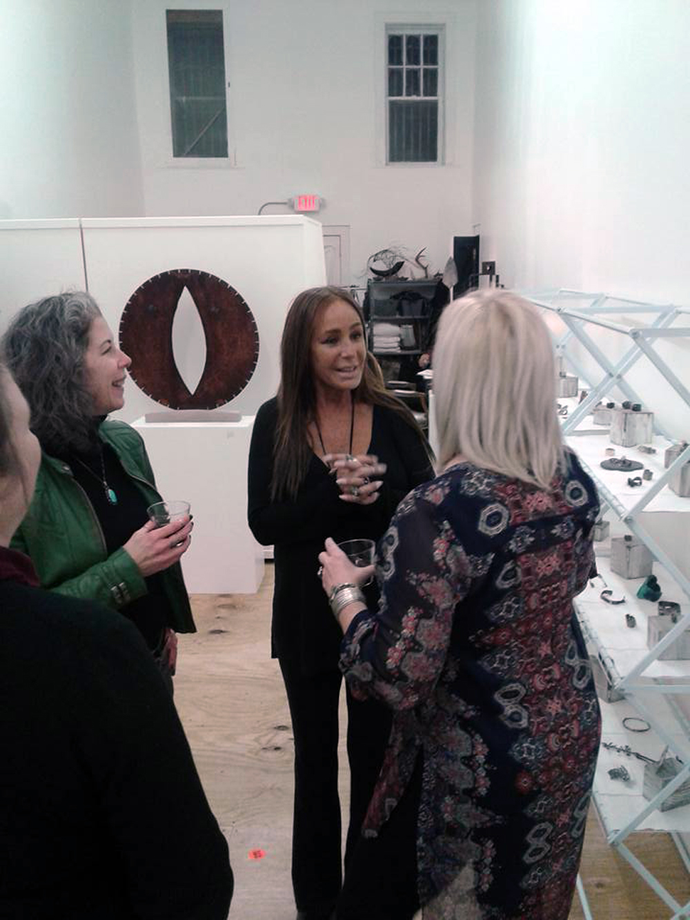 With Catherine Delett and Jill Weissman Herlands at Gallery OVO.jpg