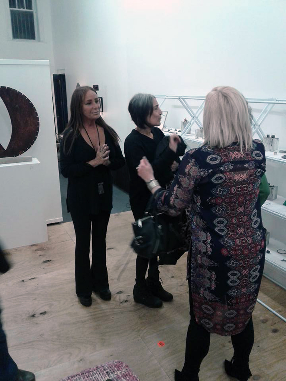 With Jill Weissman Herlands and Caro Kalb-Marr at Gallery OVO.jpg