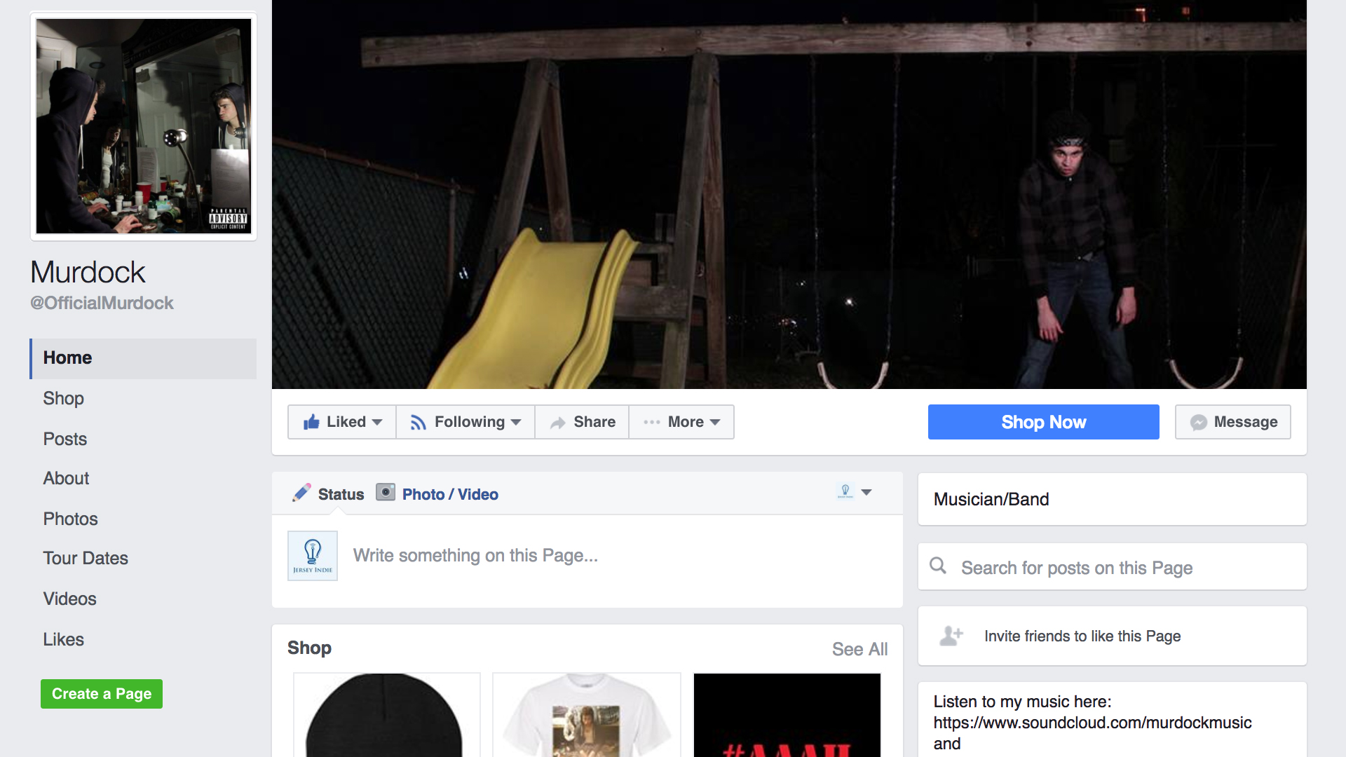 Facebook.com/OfficialMurdock