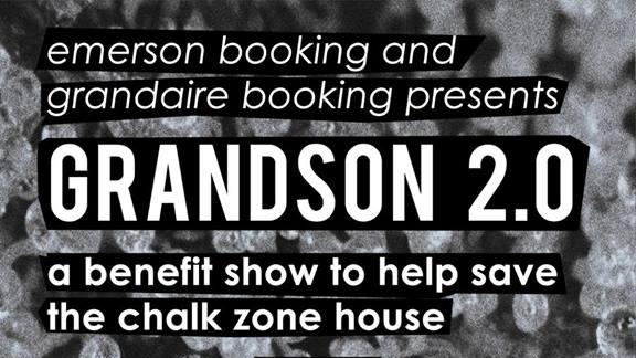 The Official Grandson Show 2.0: Chalk Zone Benefit   Acoustic, emo, indie, post-hardcore, rock, metal, pop punk, alternative, folk, punk, heavy metal, hardcore, EDM, DJ  Mays Landing, NJ  Posted March 21, 2016