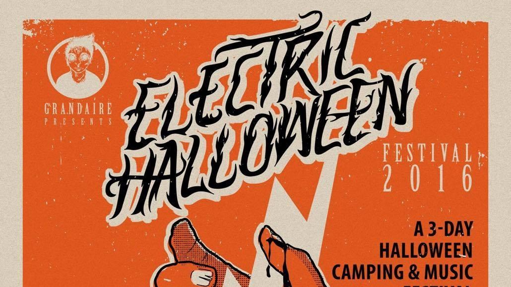 Electric Halloween Festival (Oct. 28-30, 2016)   Music, entertainment, art, vendors   Hammonton, NJ   Posted October 6, 2016