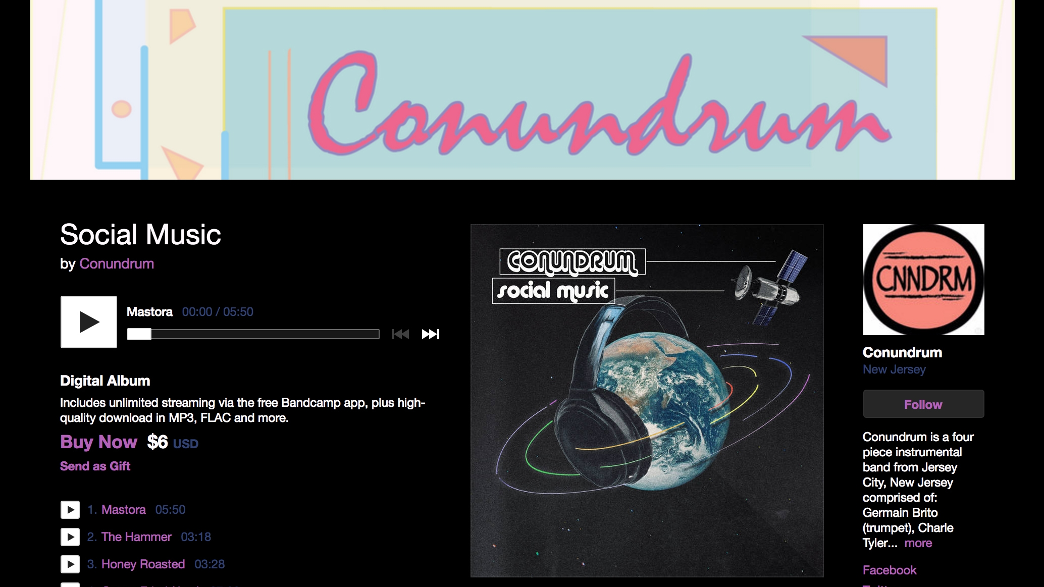 Conundrumtv.bandcamp.com/releases