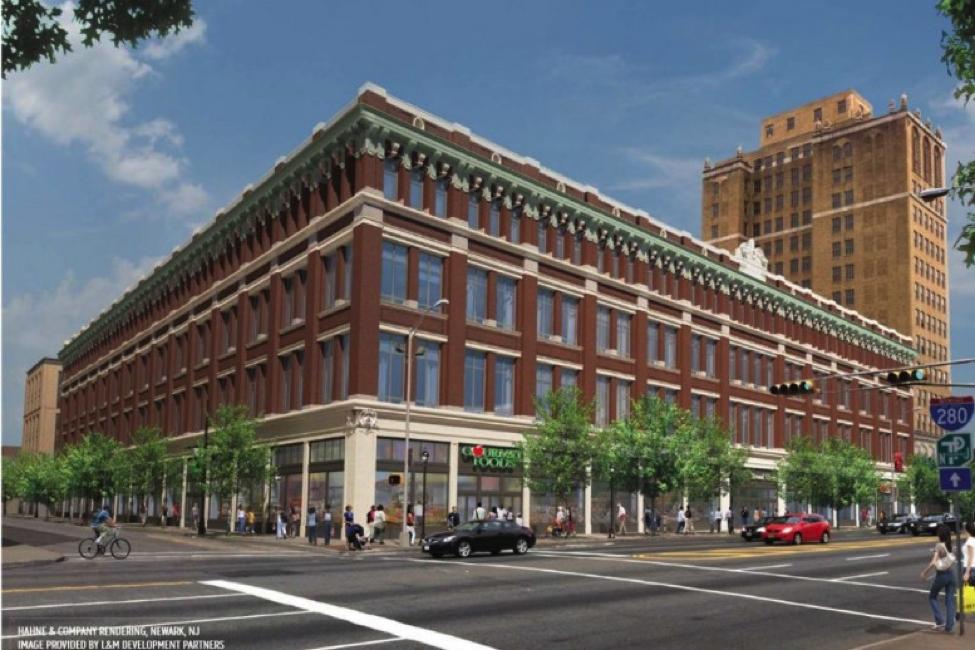 Historic Hahne's Department Store Building
