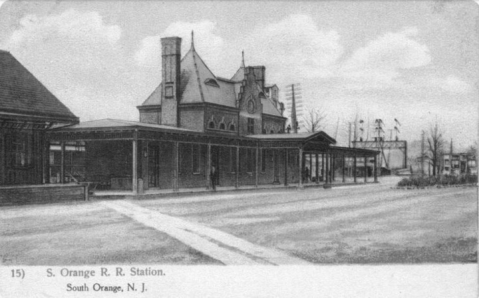 South Orange Train Station  http://lackawannarrelevation.blogspot.com/