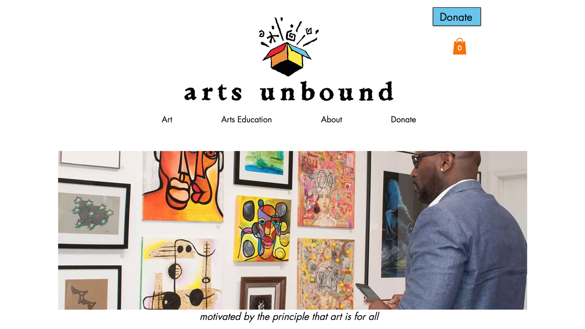 Arts Unbound   (Orange |Essex County)   **Featured Page   Arts Unbound is dedicated to the artistic achievement of people living with disabilities and to the continuing artistic enrichment of seniors...   Read more