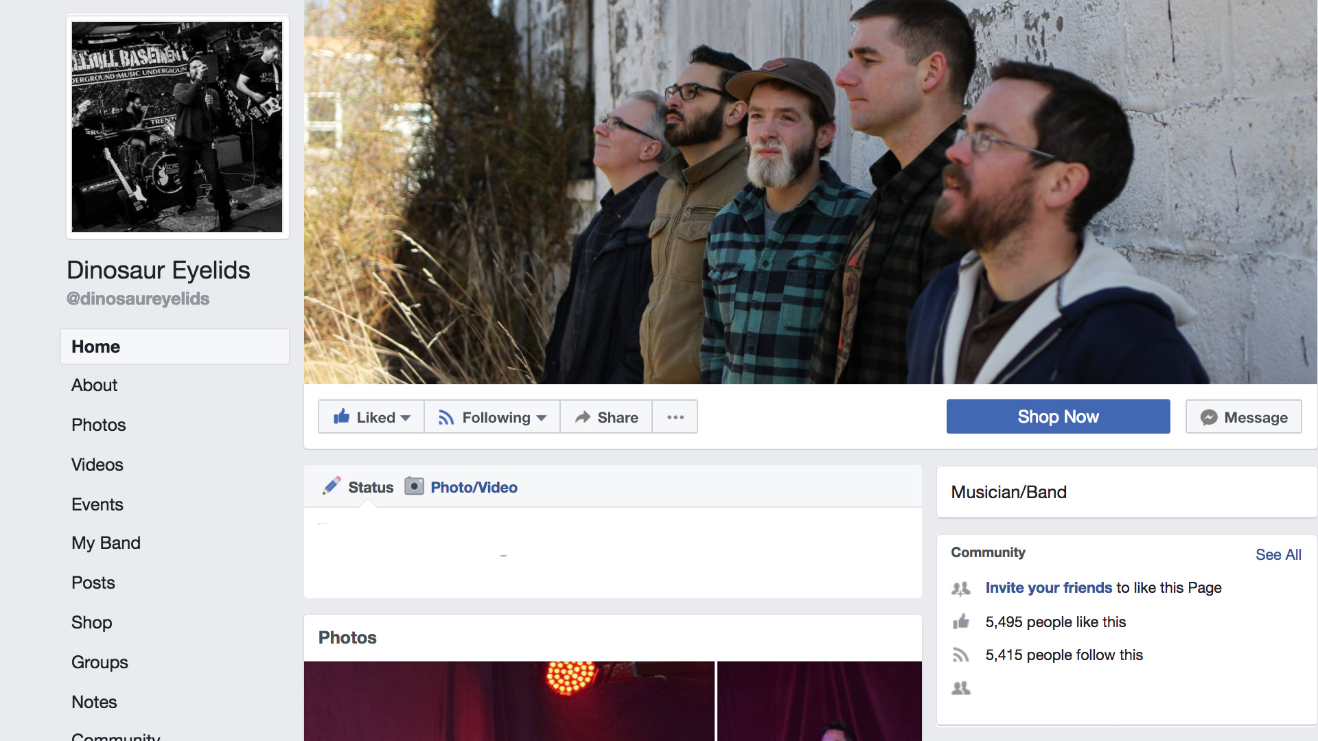 facebook.com/dinosaureyelids