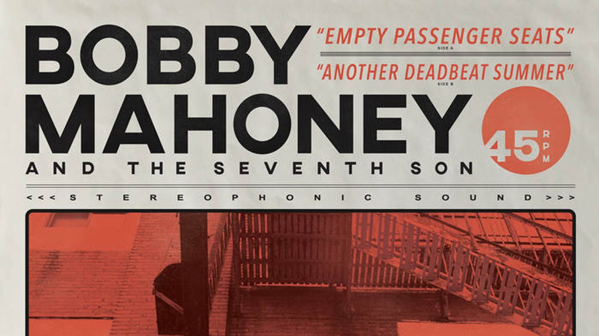 "BOBBY MAHONEY AND THE SEVENTH SON - ""EMPTY PASSENGER SEATS"" (SINGLE REVIEW)   Alternative Rock   East Brunswick, NJ    Posted December 26, 2017"
