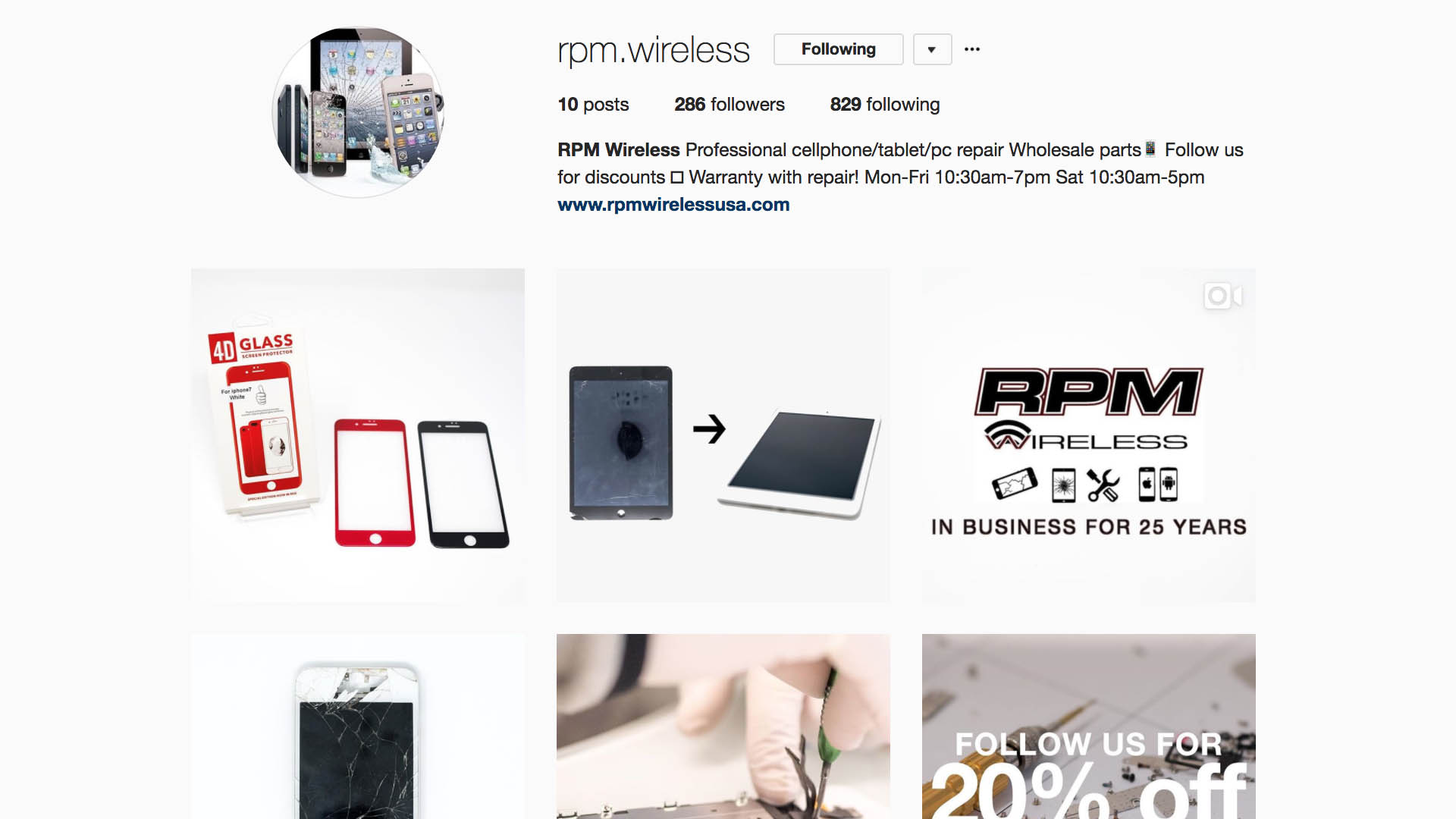 instagram.com/rpm.wireless