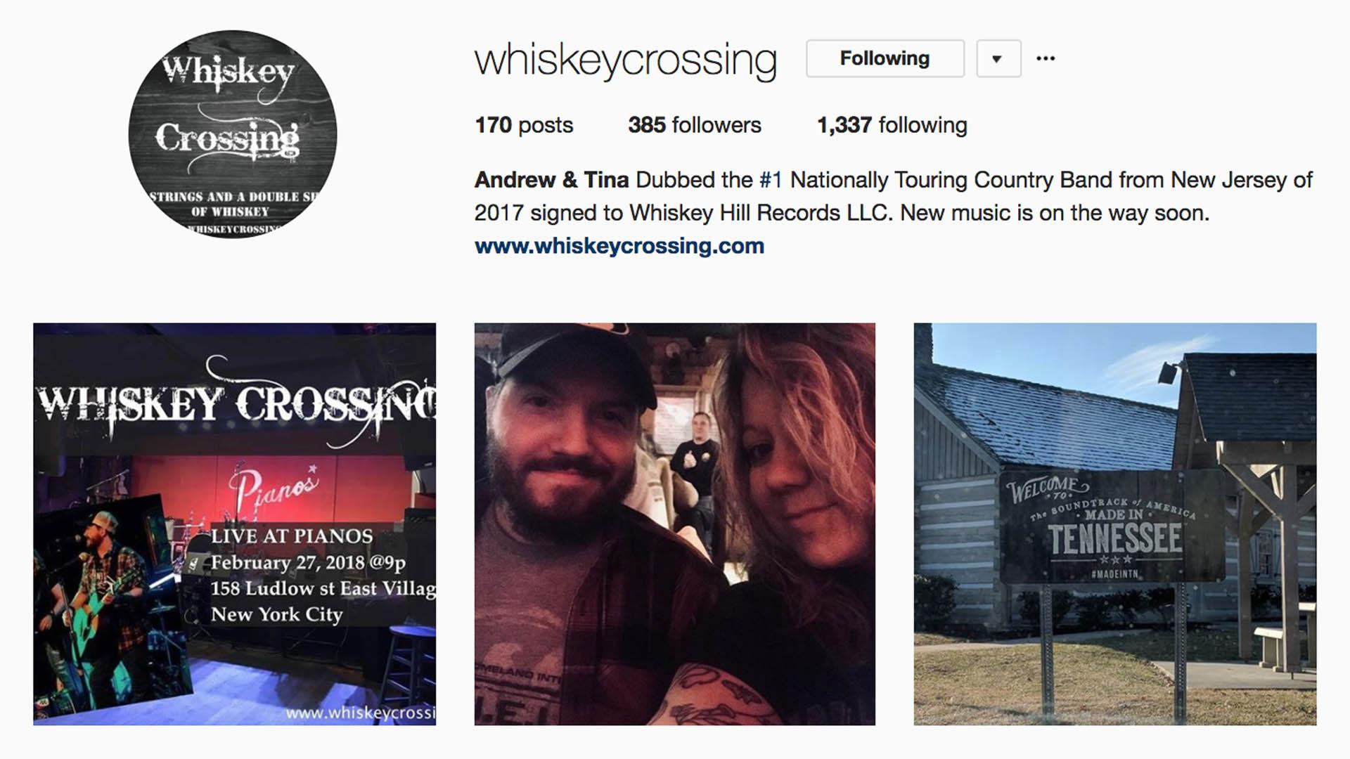 instagram.com/whiskeycrossing
