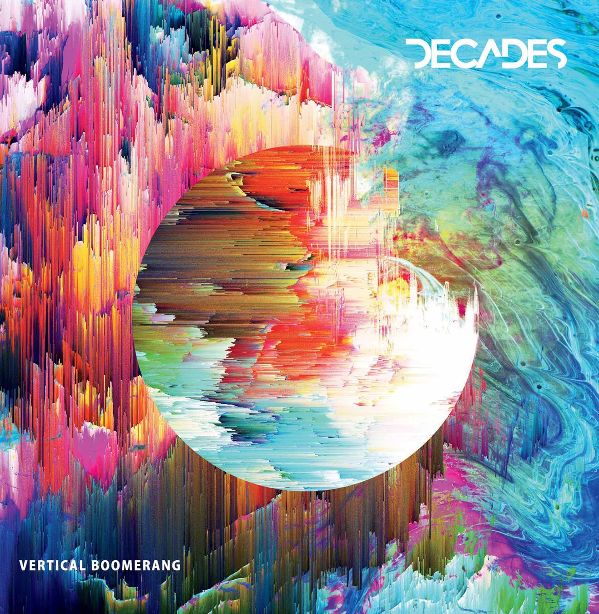 Vertical Boomerang  - EP (2018)  iTunes -  https://itunes.apple.com/us/album/vertical-boomerang-single/1340735049  Spotify -  https://open.spotify.com/album/6MYUawMacwlX5LUdUXycNC?si=6w640B9-R_K4CRPagZSUOQ  Bandcamp -  https://decadesbandmusic.bandcamp.com/
