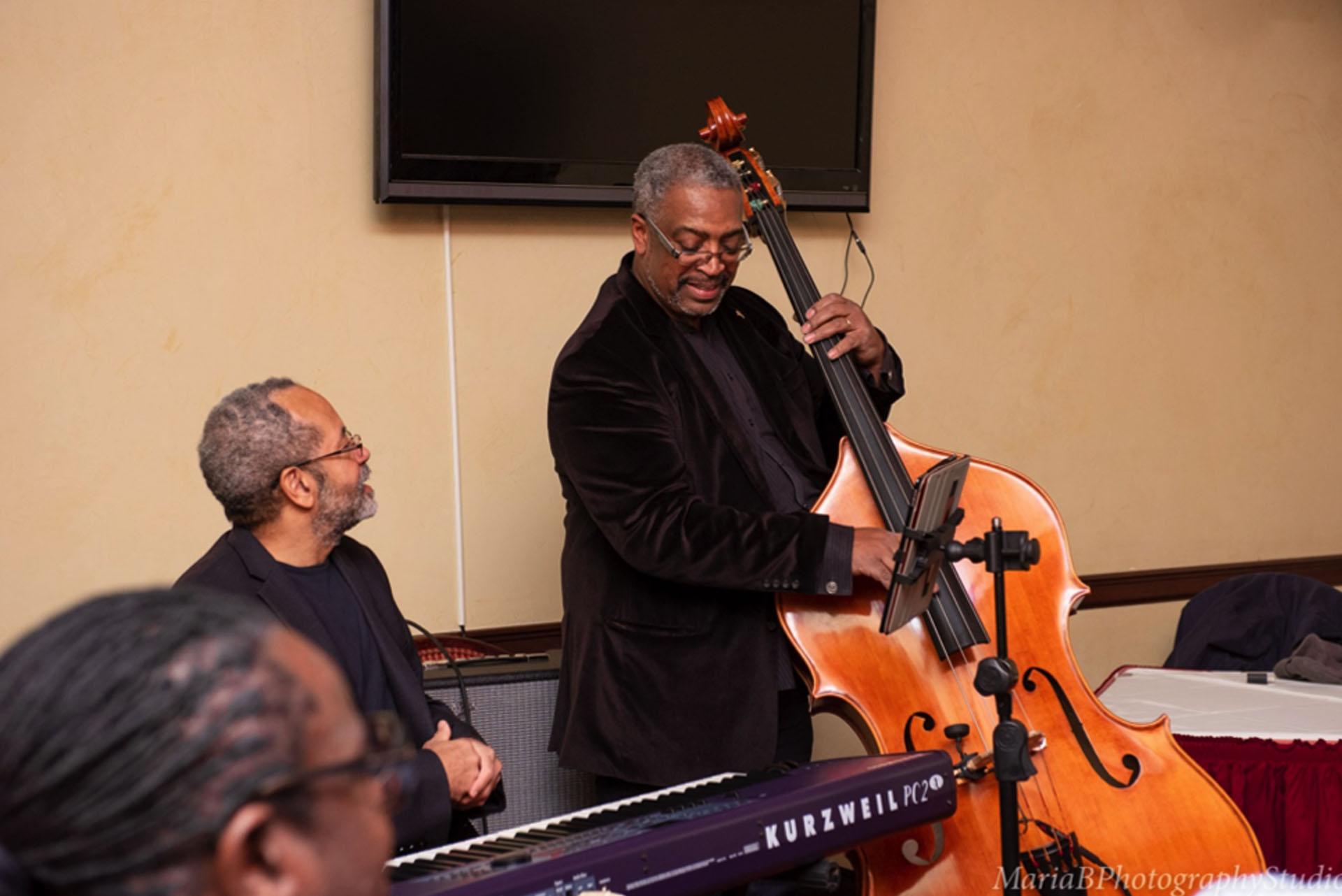 Nat Adderley, Jr. (piano) and Darryl Clark (bass). Photo by    Maria B. Photography Studio   .