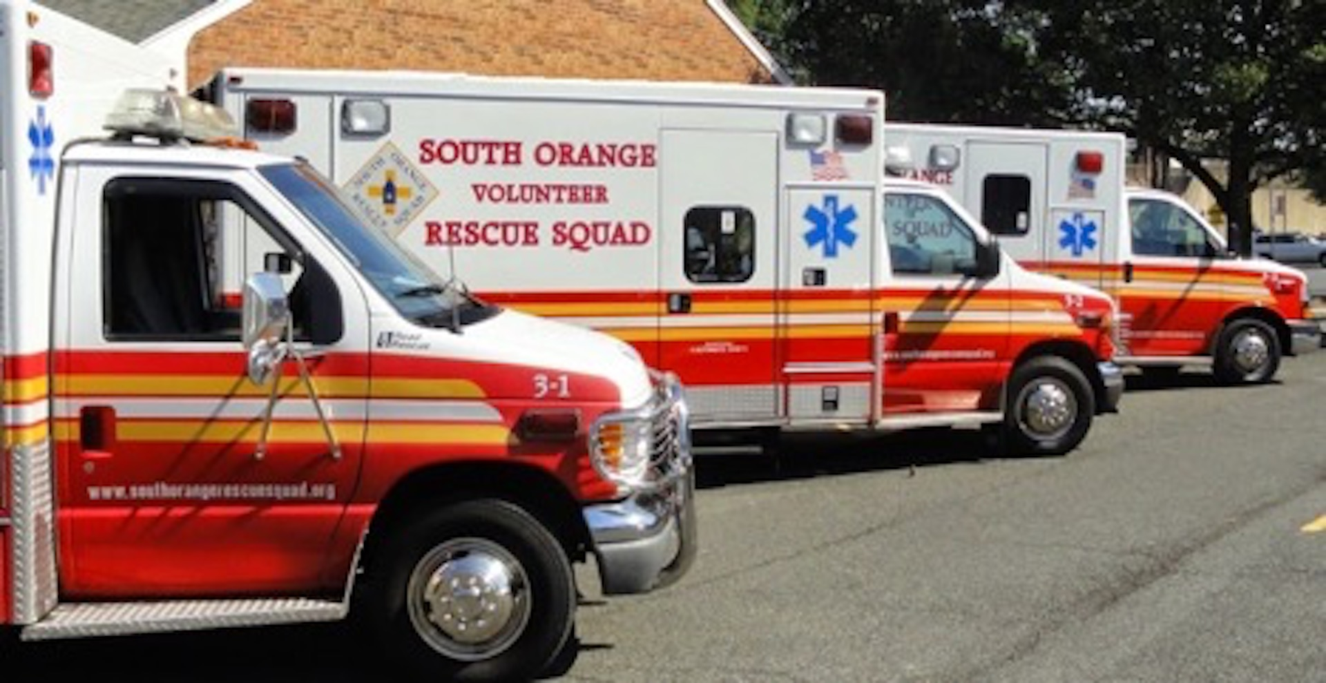 South Orange Volunteer Rescue Squad trucks.jpg