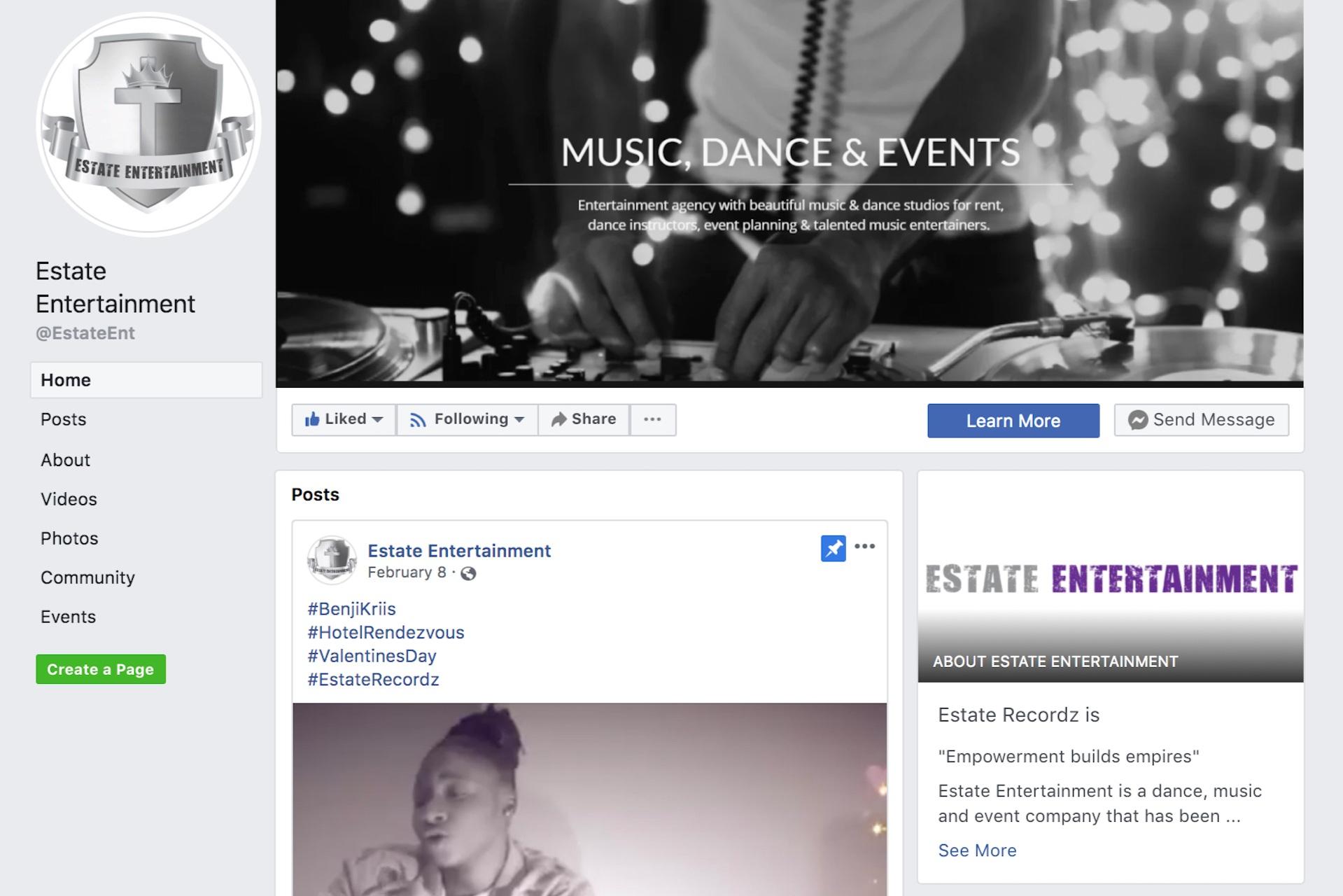 facebook.com/EstateEnt