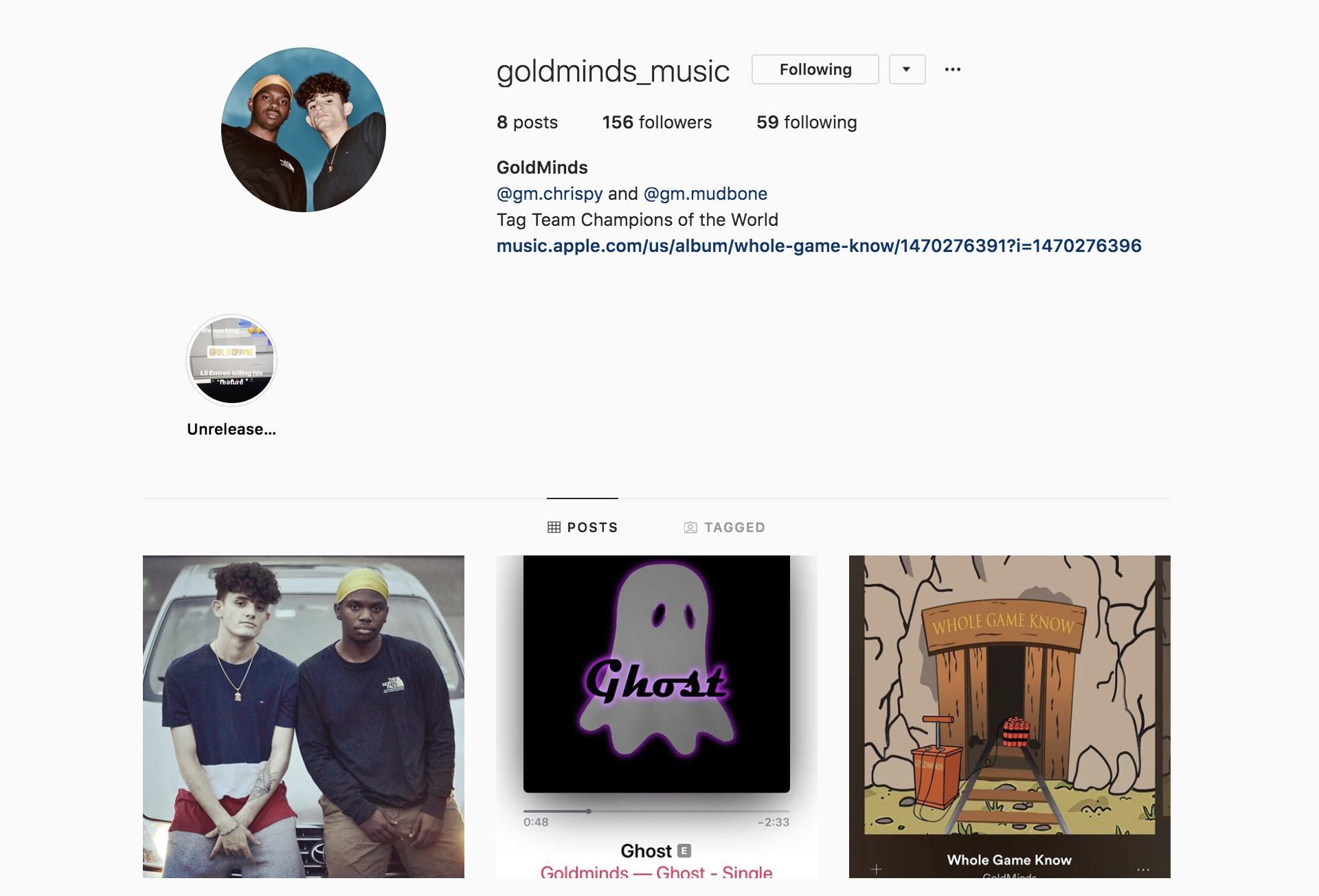 https://www.instagram.com/goldminds_music/