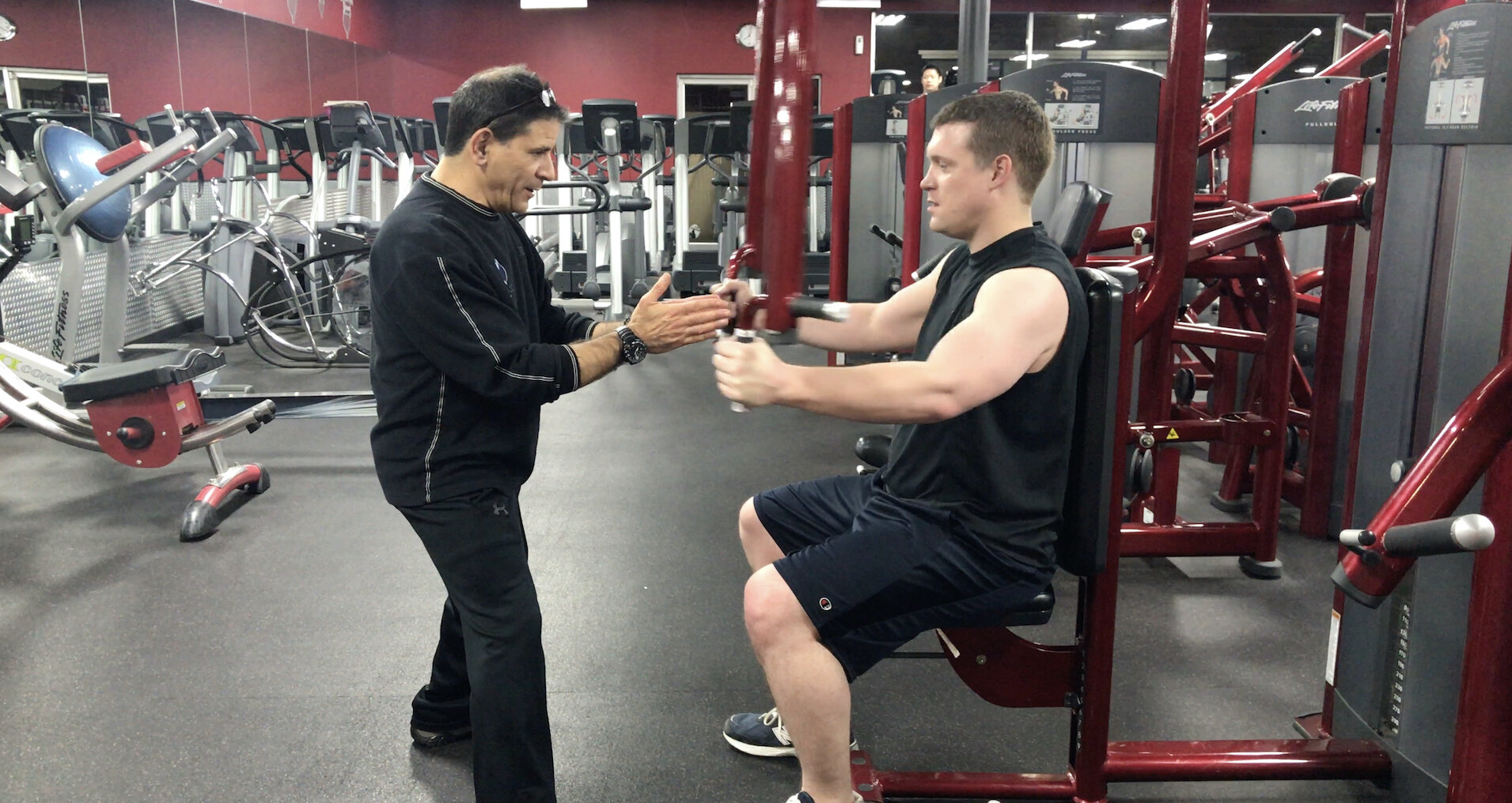 One-on-one personal training with Steve.