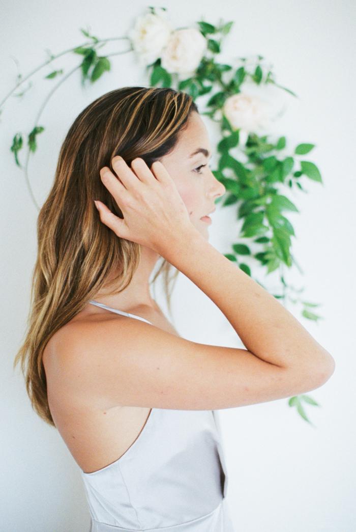 Photography: Jeremy Chou | Styling/Design: Natalie Papova | Calligraphy & Paper Goods: Spurlé Gul Studio | Model: Devon Powers | Hair & Makeup Kelly Jo | Floral Design Twigss Floral Studio