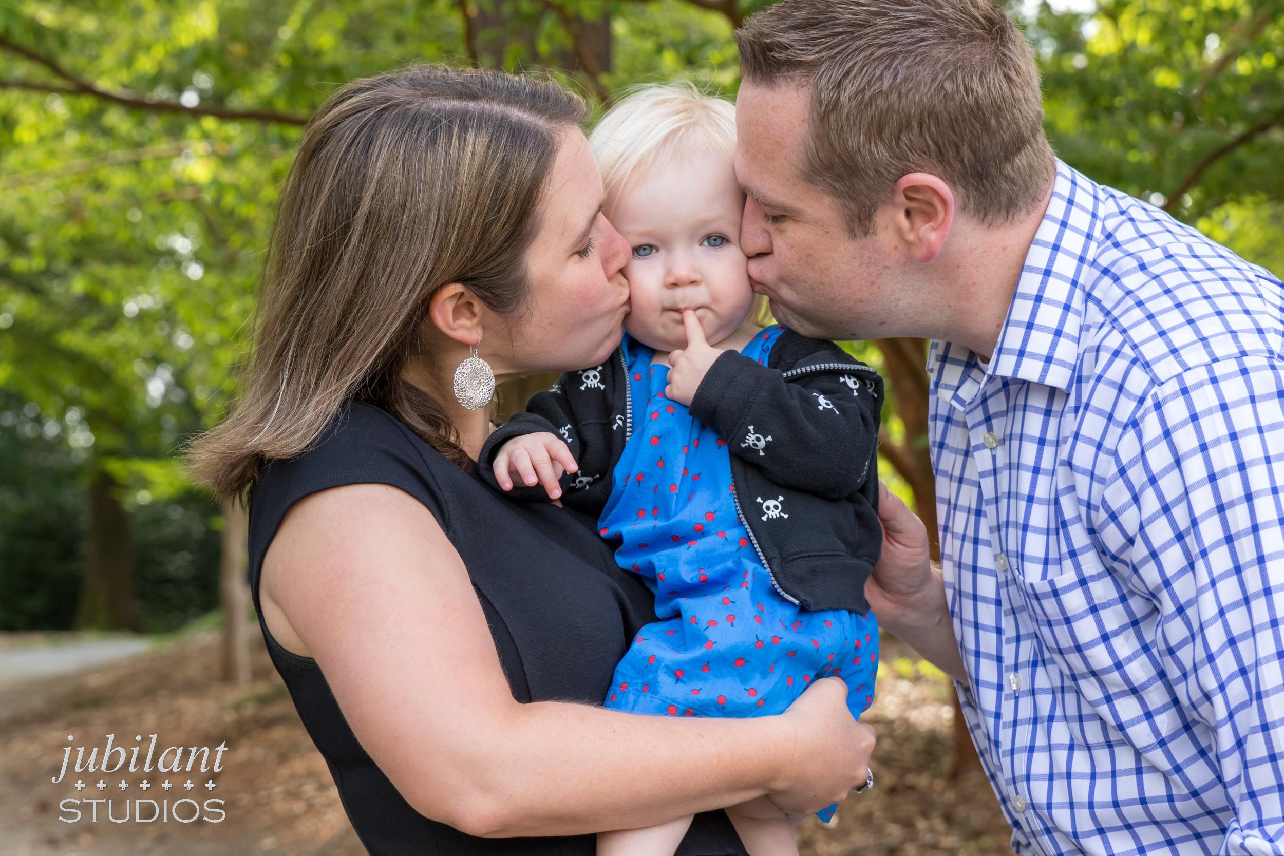 Washington Park Arboretum Family Photo