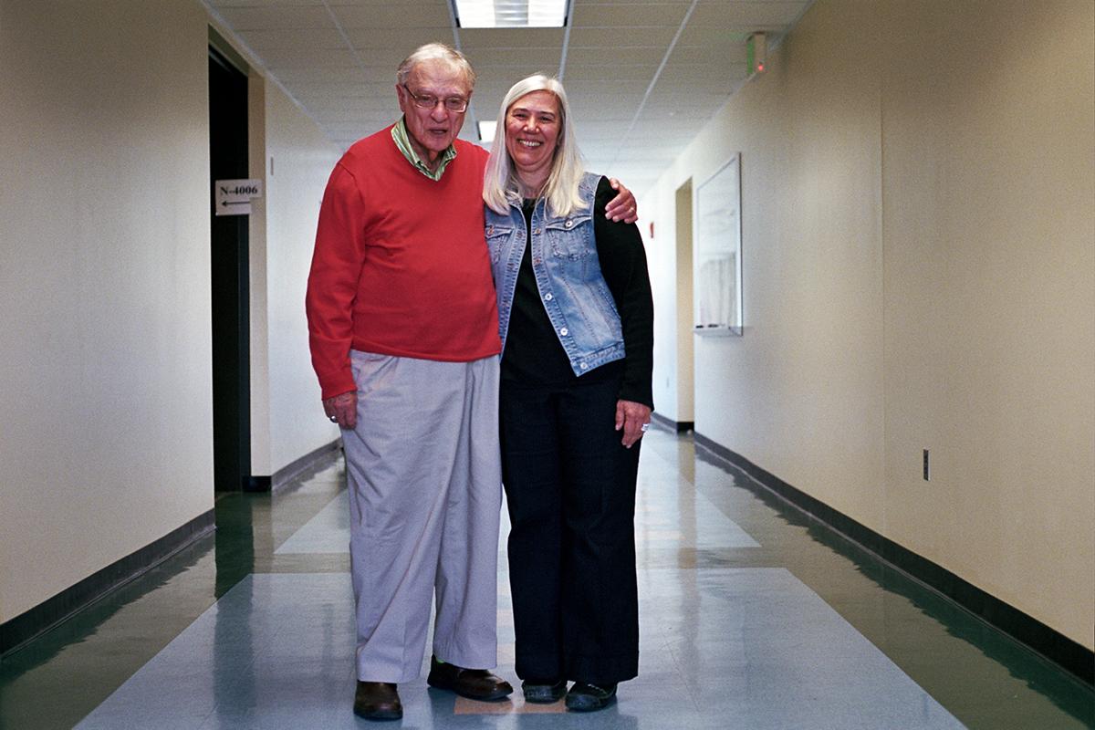 Harvey Aronson and Irene Virag