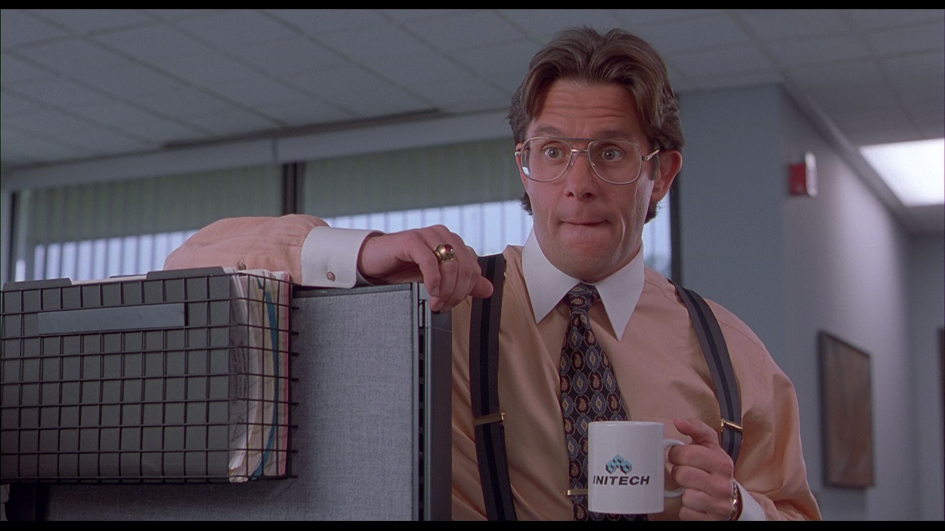 Really? You filed TPS reports all weekend? Sounds thrilling. (credit: Office Space)