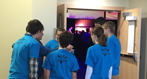 These middle school students from our congregation seized the opportunity to serve     communion on November 1st during all our services. Imagine how empowered they felt to be used by God this way?