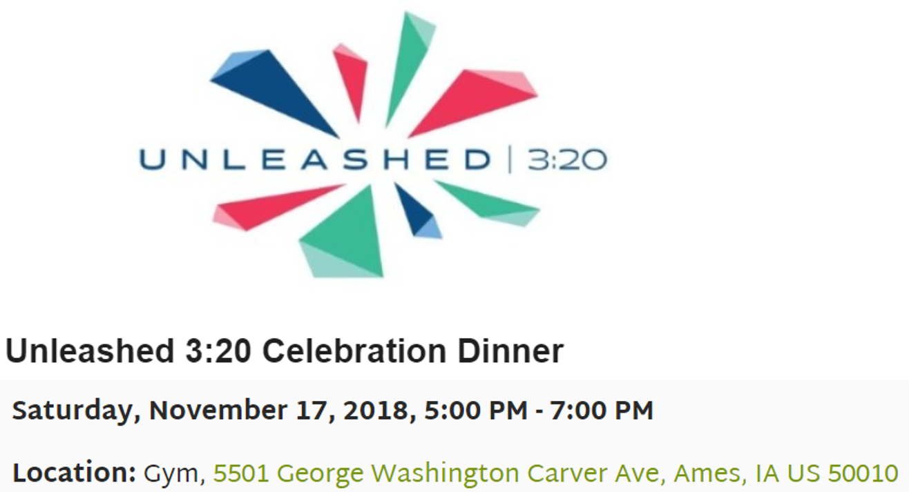 You're Invited! - Please join us as we look back over the many milestones and accomplishments of our ORIGINAL UNLEASHED 3:20 campaign!We'll also look forward to envision how eliminating the existing mortgage debt will UNLEASH us to fully respond to God's calling to serve internationals and families in our community.