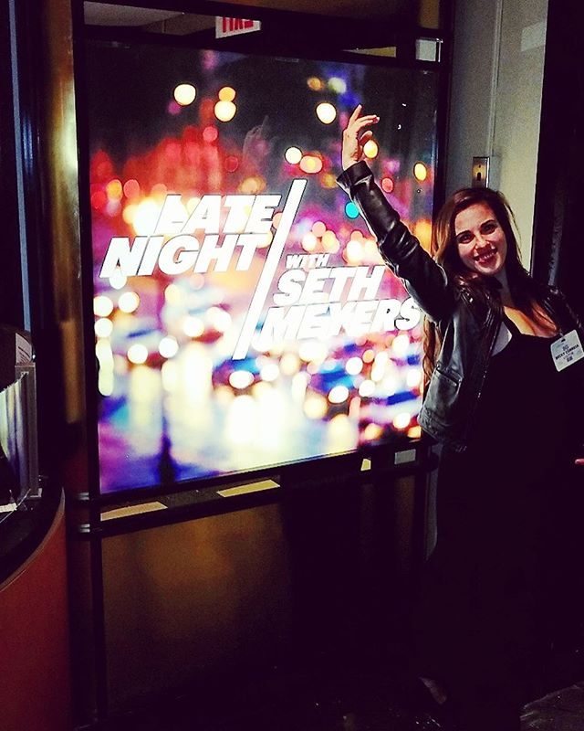 VIP treatment at Late Night with Seth Meyers 🌟 @suzyinc @latenightseth