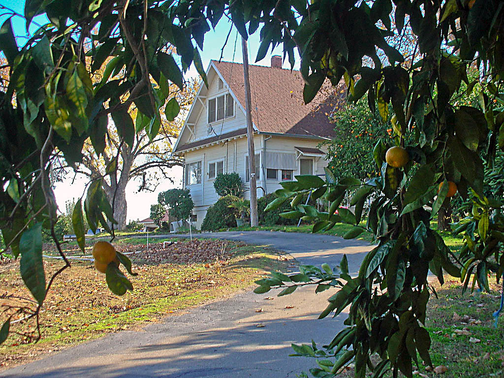 The Struble farm house was built in 1913.