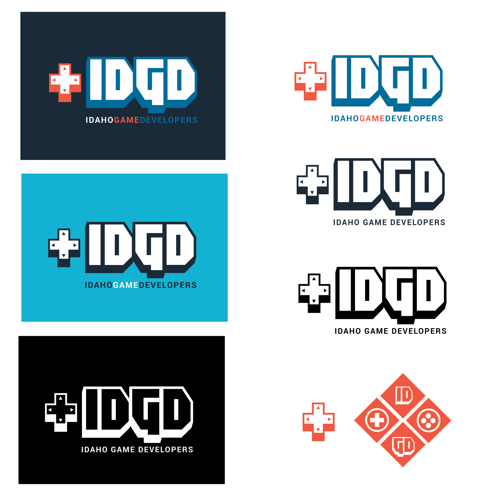 IDGD Rebrand by Ponywolf