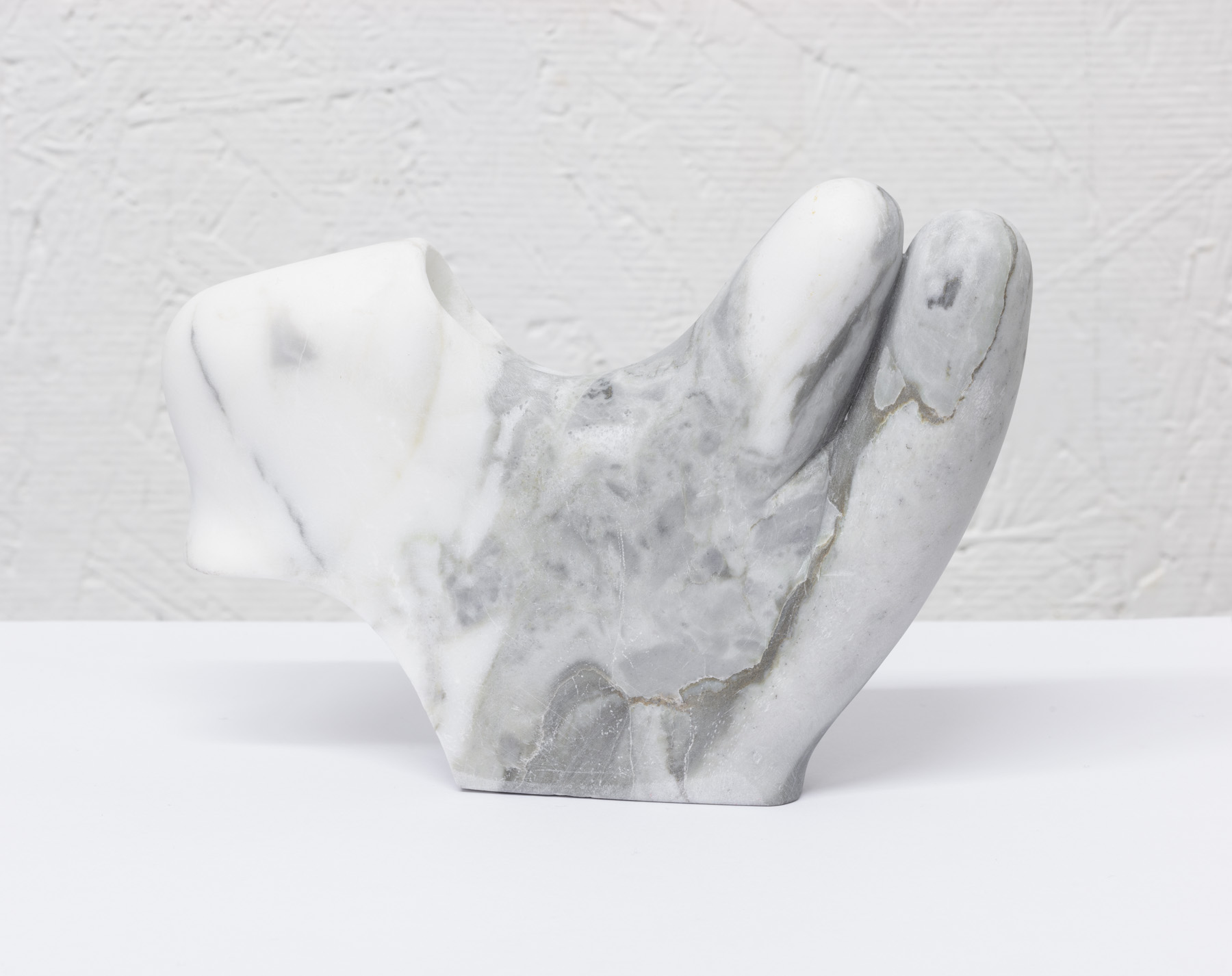 Get back on, 2019 marble 4 ½ x 6 ½ x 1 inches