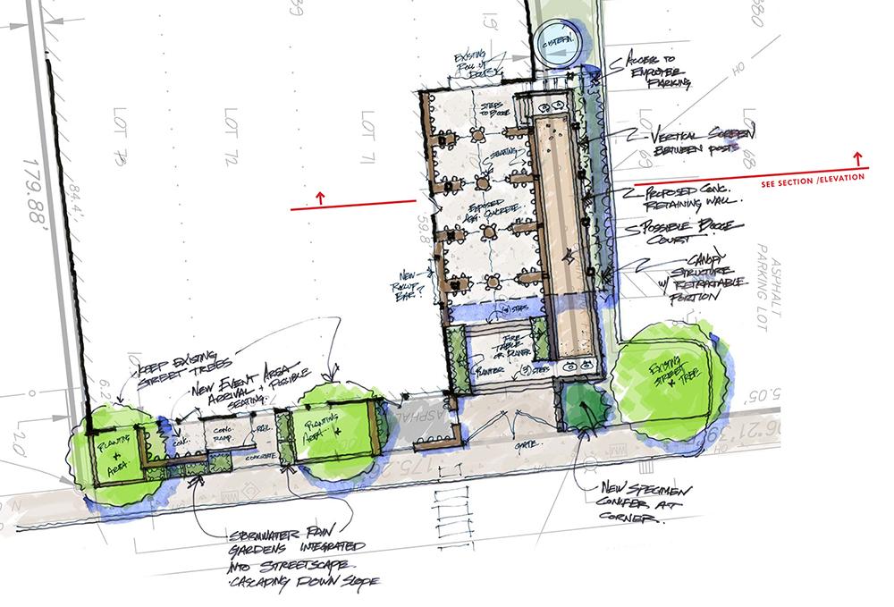 FUNKATORIUM :  : Conceptual Site Plan