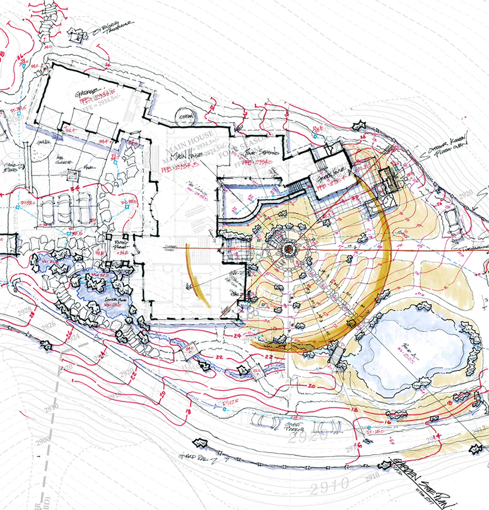 SKY   ORCHARD :  : Grading Plan