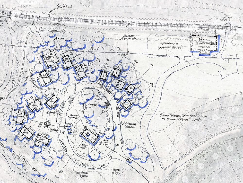 OLIVETTE :  : Conceptual Site Plan