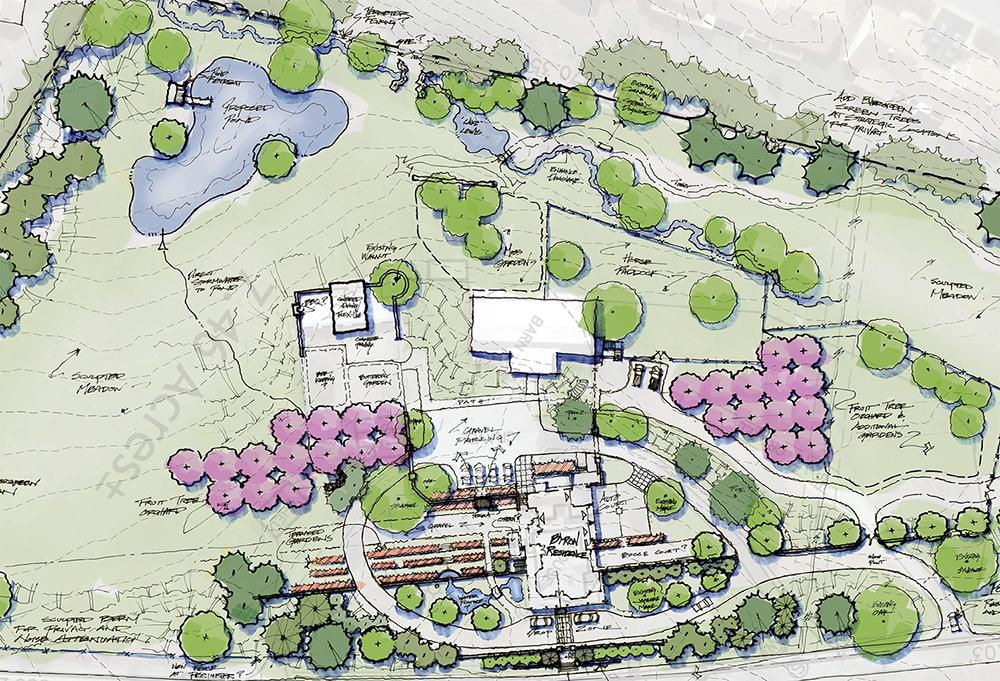 HENDERSONVILLE RESIDENCE :  : Site Plan