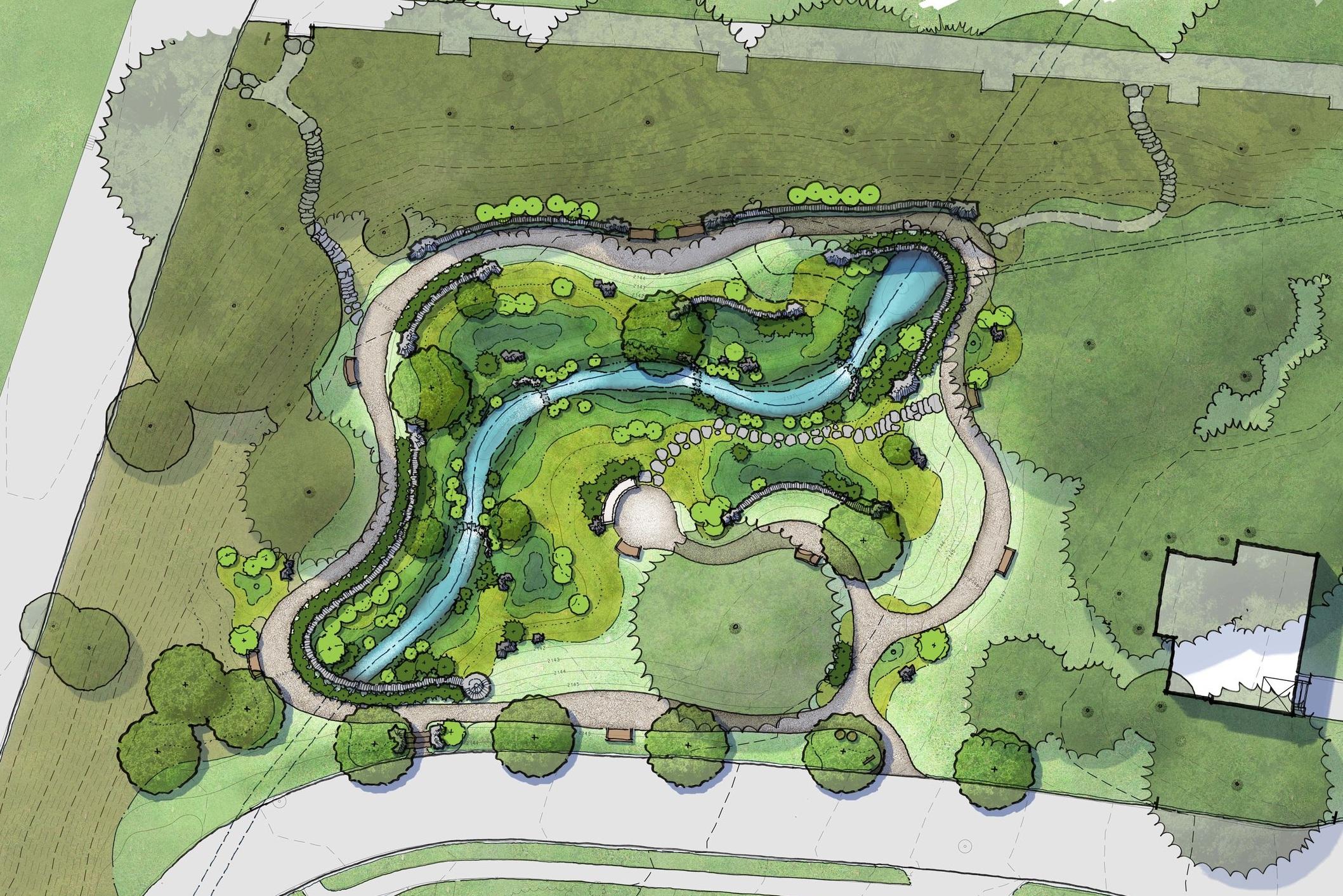 Public Park Concept Design -