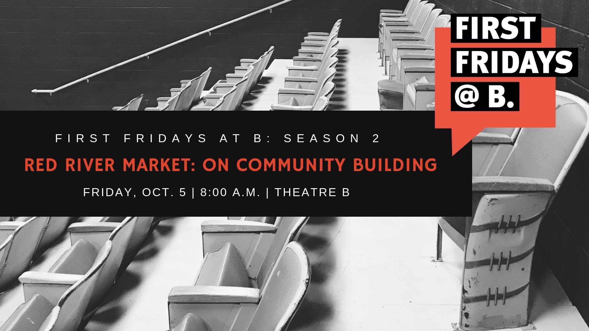 Friday, October 5 - Our October edition of First Fridays at B focused on how food + commerce can build community. Event featured Joe Burgum and Simone Wai of  Folkways  + Founders/Organizers of the  Red River Market .