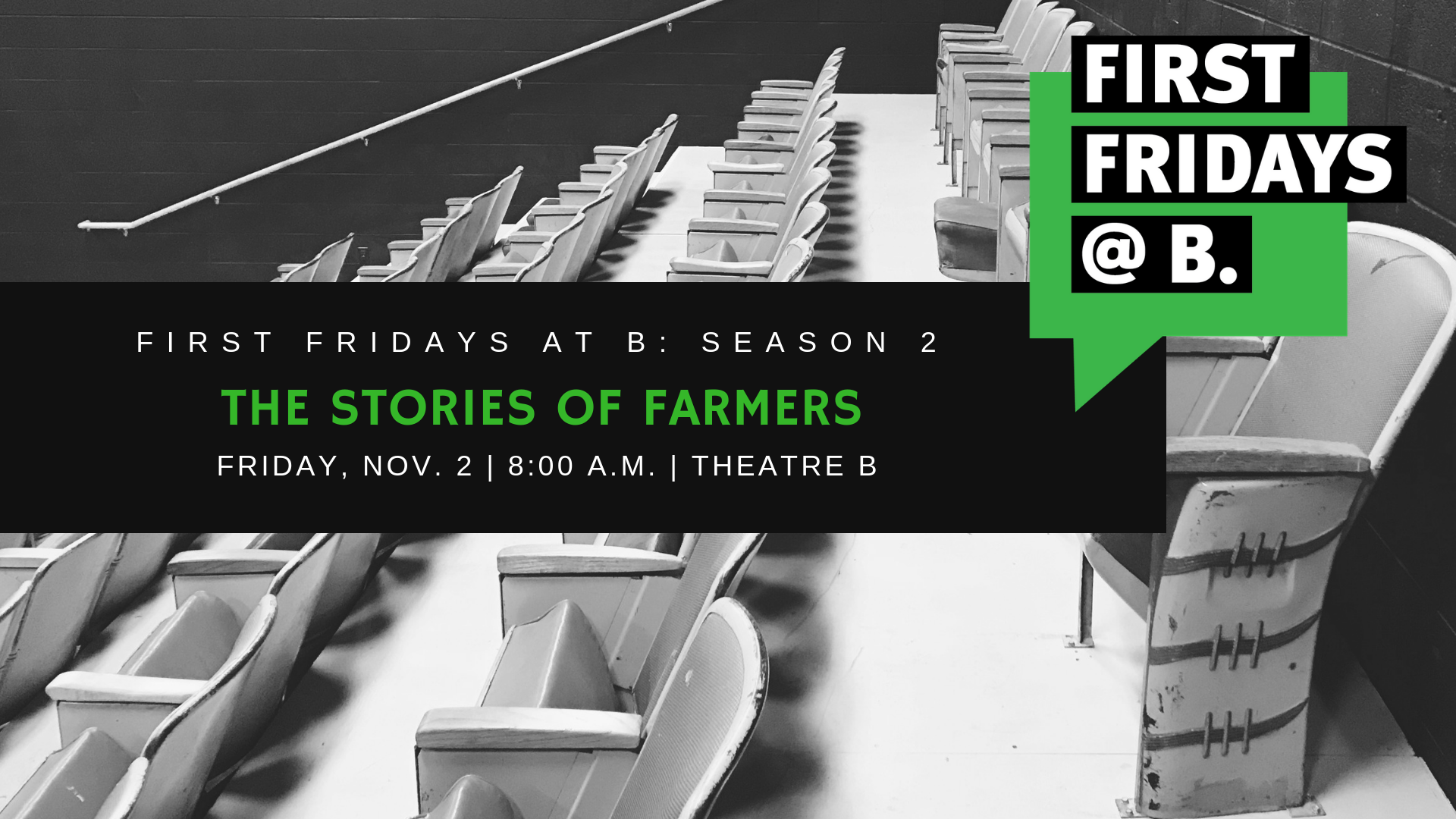 Friday, November 2 - Our November First Fridays focused on the stories of farmers in and around the Fargo-Moorhead and featured Sam Rydell of Nurtured Plains Farm, Amber & Ross Lockhart of Heart and Soil Farm, and Jaclyn Weber of Folcstede Farms.
