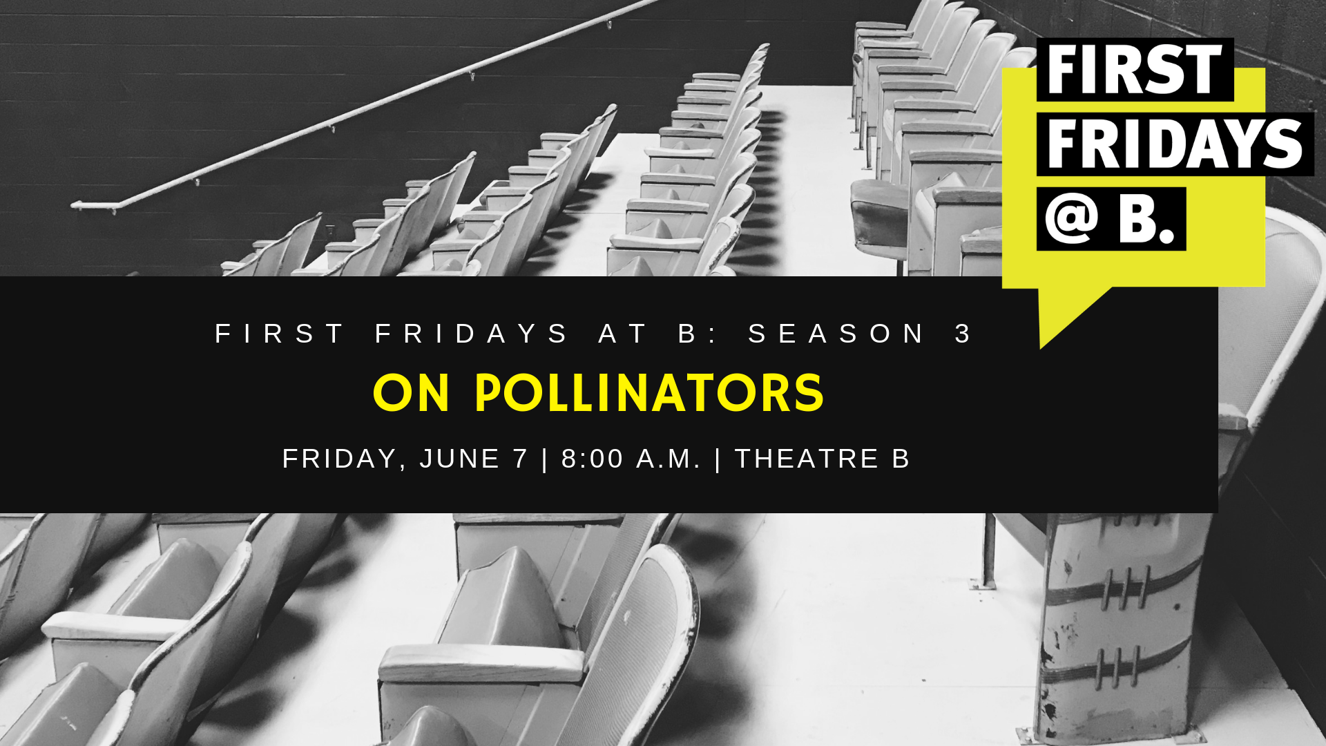 Friday, June 7  -  In honor of National Pollinator Month, our final First Fridays of season three focused on the importance of pollinator and featured local experts Bryan Bishop (Concordia College), Peter Schultz (Longspur Prairie Fund) and Netha Cloether (Plains Art Museum / Plains Buzz Lab).