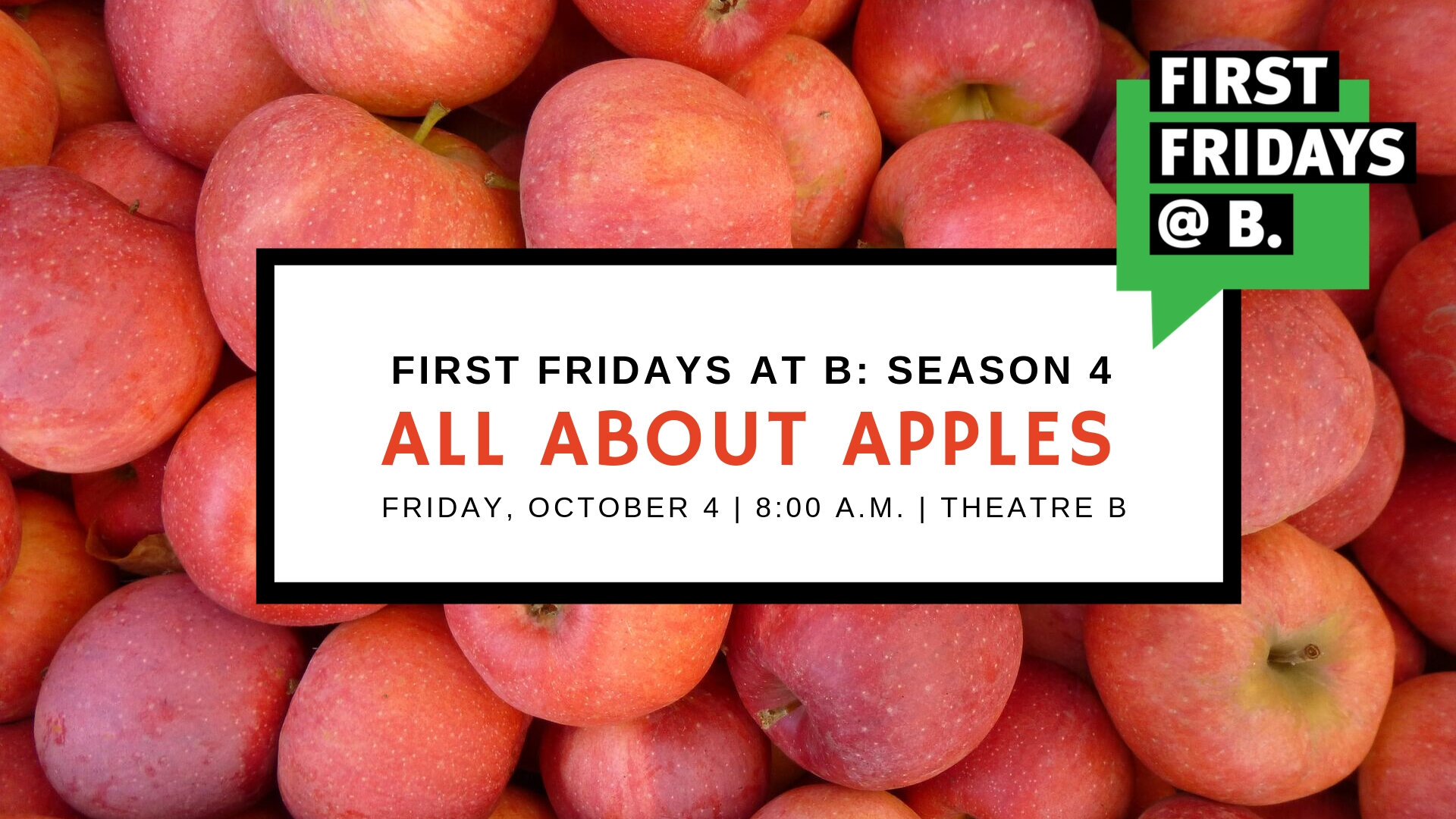 October 2019  - To celebrate fall and all the delicious foods that go along with it, our October Edition of First Fridays was all about apples. We welcome Sam DeMarais (Fargo Park District), Stacy Nelson-Heising (Cottonwood Cider House) and Ethan Henning (Wild Terra Cider) to the stage.   [Watch video]