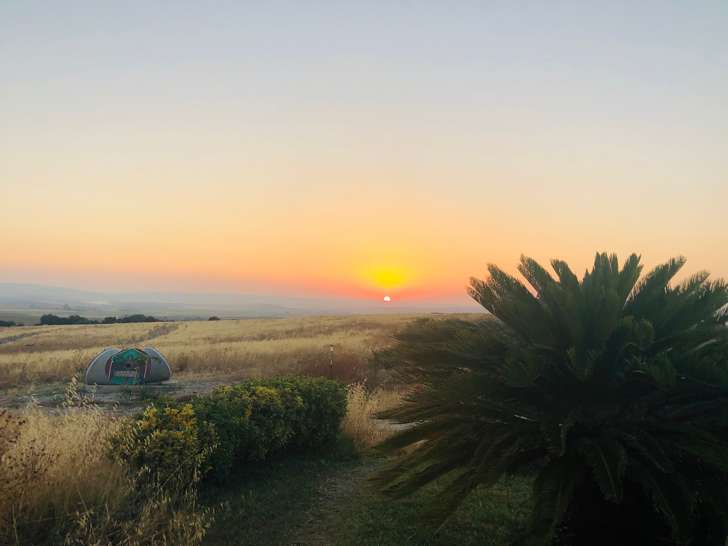 Sunset at Suryalila… no words.