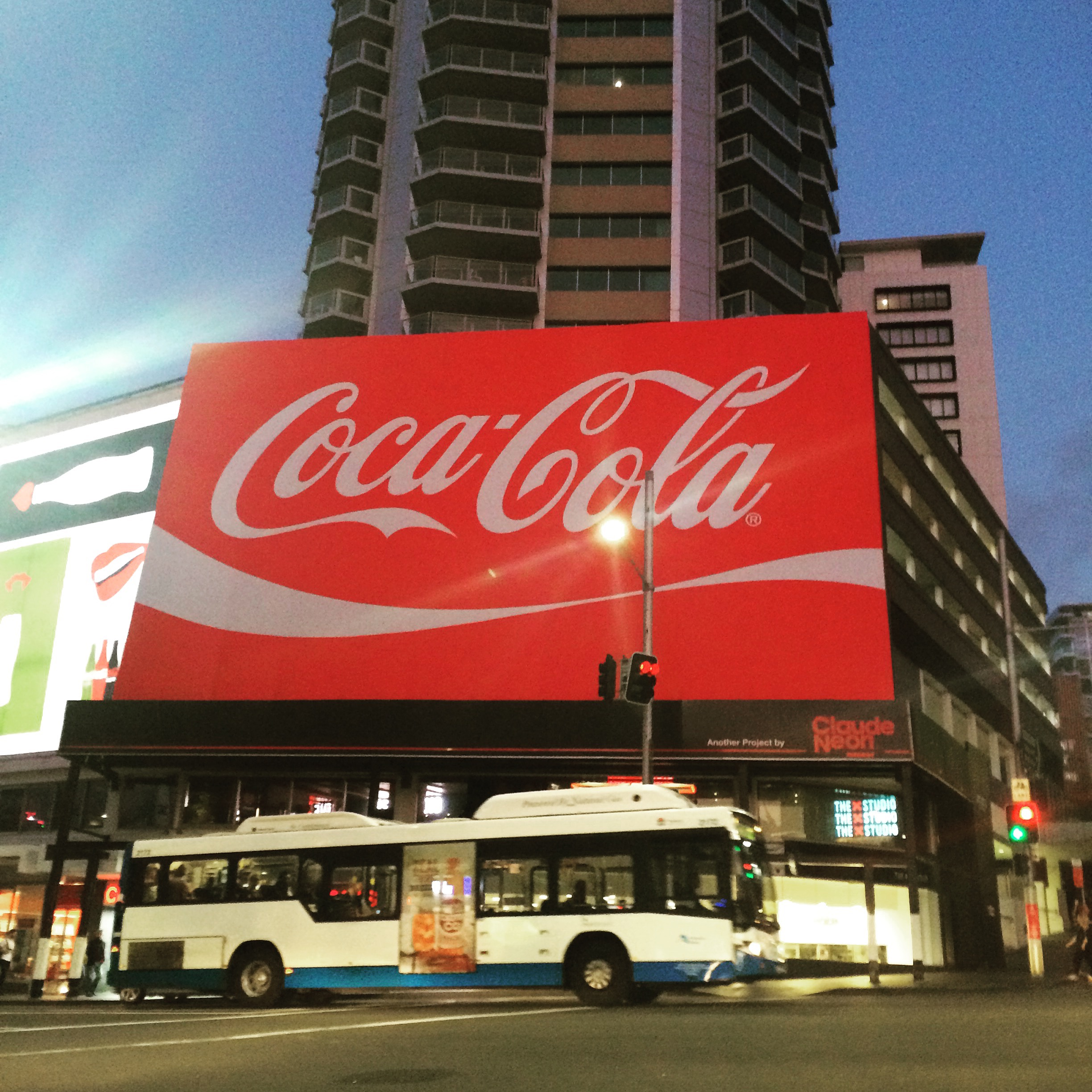The Coke sign - Kings Cross - Sydney, New South Wales