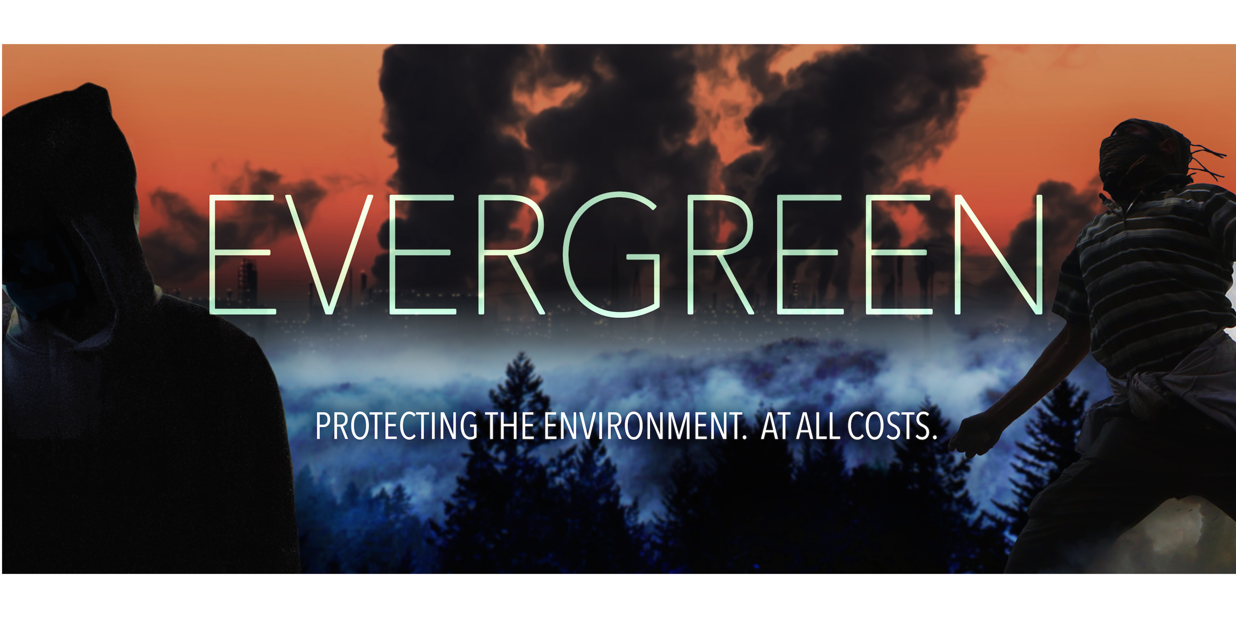 """EVERGREEN"" (FEATURE SCREENPLAY)  In the heart of West Virginia's coal country, a young activist fails to  stop the destruction of his boyhood mountain and vows to take an ""any  means necessary"" approach to stop the local mining industry."